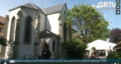 Les Versoisiens déboursent 100 000 francs pour la rénovation d'un édifice religieux
