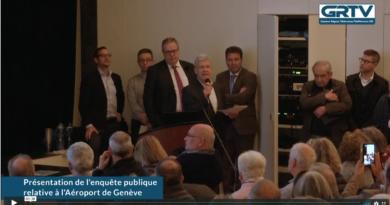 Présentation de l'enquête publique relative à l'Aéroport de Genève