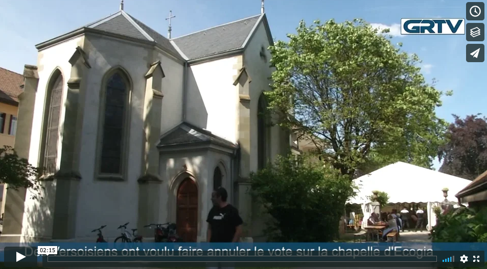 Des Versoisiens ont voulu faire annuler le vote sur la Chapelle d'Ecogia