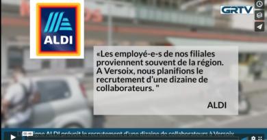 Aldi prévoit le recrutement d'une dizaine de collaborateurs à Versoix